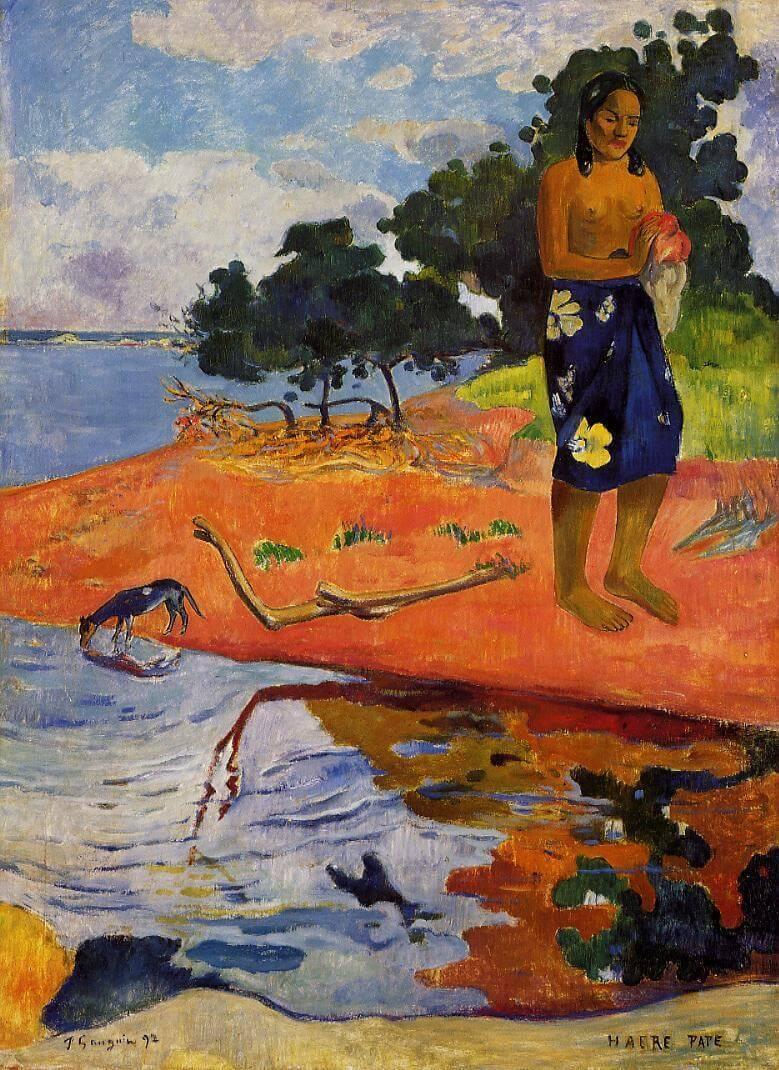 Paul_Gauguin_Haere_Pape