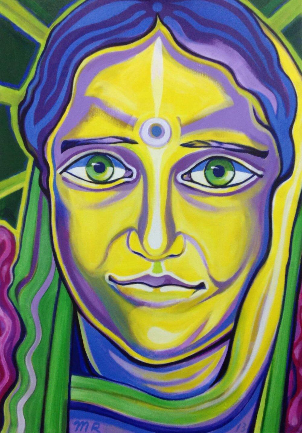 Divine Mother of Kiev - Markus Ray's Art