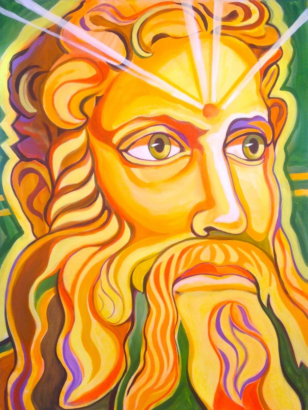 Moses of Israel - Paintings - Markus Ray's Art