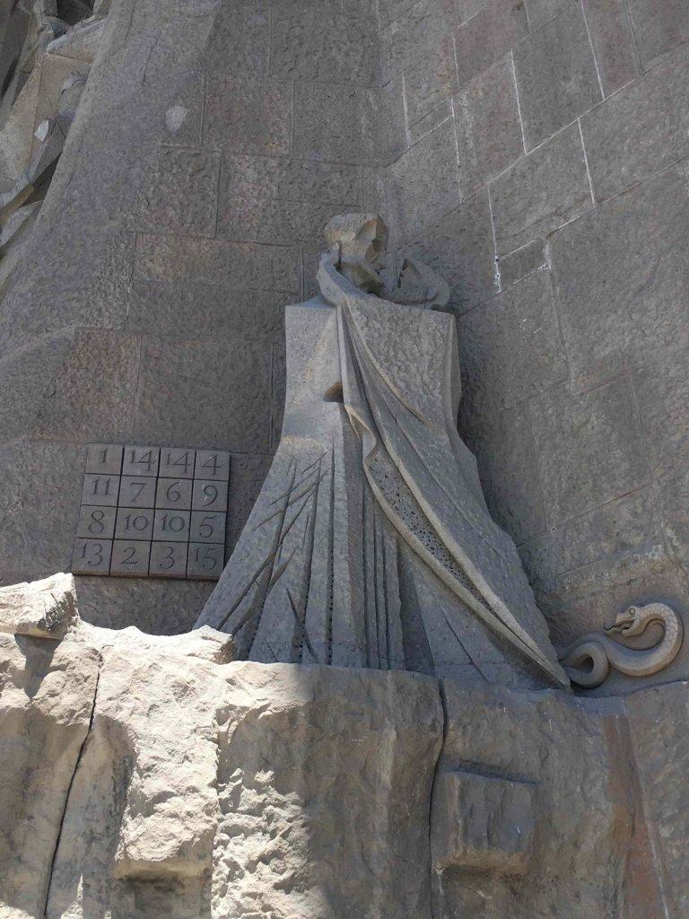 Sagrada Familia Judas Kissing Jesus