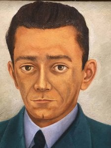 Frida Kahlo - Man with Tie