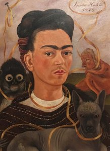 Frida Kahlo- Self Portrait
