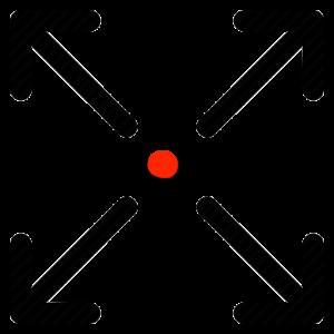 Dot and X