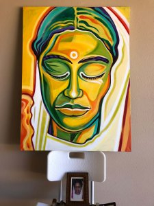 Divine Mother Painting